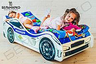 Детская кровать-машина «Полиция», фото 4