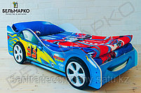 Детская кровать-машина «Тачка синяя», фото 2