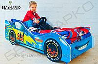 Детская кровать-машина «Тачка синяя», фото 3