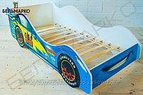 Детская кровать-машина «Тачка синяя», фото 5