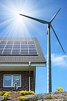 Автономная гибридная (ветро-солнечная) электростанция на 5 кВт/час (3 кВт/час - ВЭС и 2кВт/час-СЭС) , фото 1