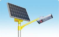 Светодиодный светильник на солнечной электростанции