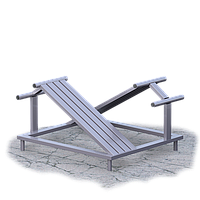 Скамья для пресса  (UZ017)