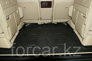 Коврик в багажник  LX 570 2007->,  7 мест, длинный, фото 2