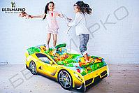 Детская кровать-машина «Феррари», фото 4