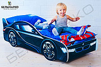 Детская кровать-машина «БМВ», фото 4