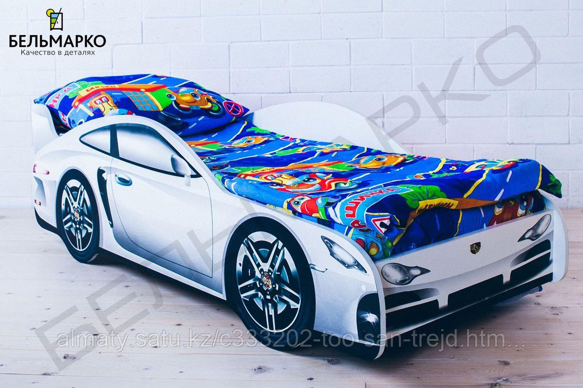 Детская кровать-машина «Порше»