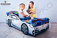 Детская кровать-машина «Порше», фото 3