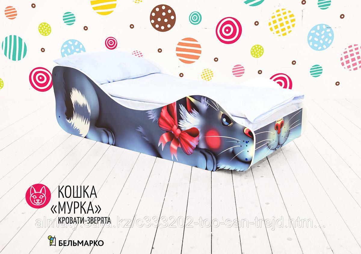 Детская кровать «Кошка - Мурка»