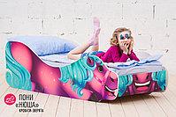 Детская кровать «Пони - Нюша», фото 2
