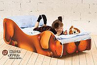 Детская кровать «Собачка - Жучка», фото 2