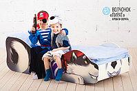 Детская кровать «Волчёнок - Пират», фото 4