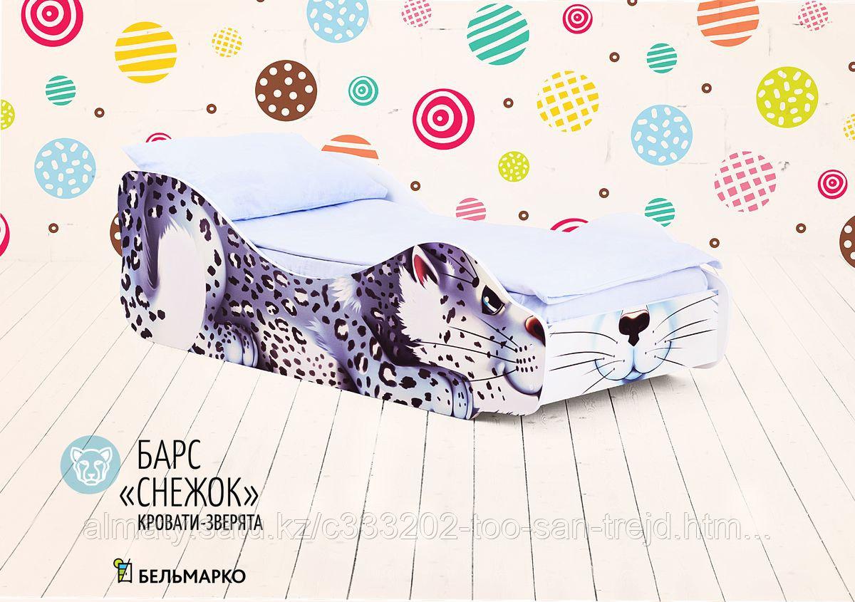 Детская кровать «Барс - Снежок»
