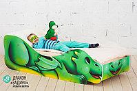 Детская кровать «Дракон - Задира», фото 3