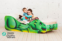Детская кровать «Дракон - Задира», фото 4
