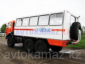 Вахтовка КамАЗ 4208-110-15 (Сборка РФ, 2013 г.)