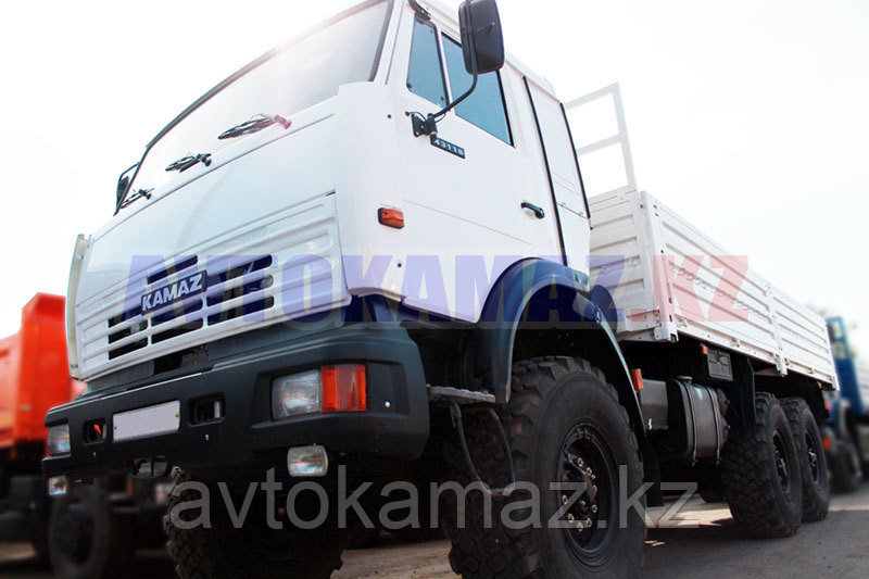 Бортовой грузовик КамАЗ 43118-013-10 (2016 г.)