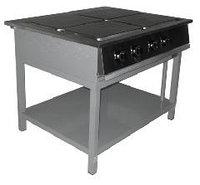 Плиты без жарочного шкафа на подставке ПЭ-804 О