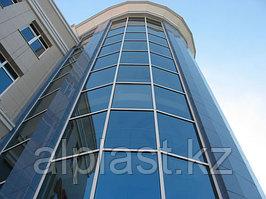 Алюминиевое остекление фасада
