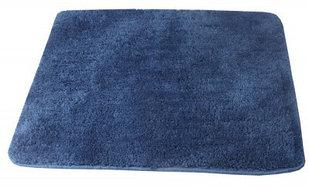 Коврик одинарный в ванную комнату  FIXSEN  0126А Blue (голубой)  (50х70см)