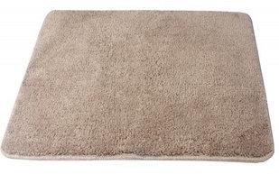 Коврик одинарный в ванную комнату  FIXSEN  0126А Beige (коричневый)  (50х70см)