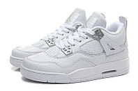 Кроссовки Air Jordan 4(IV) White Silver (37-40), фото 3