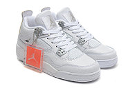 Кроссовки Air Jordan 4(IV) White Silver (37-40), фото 2