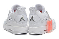 Кроссовки Air Jordan 4(IV) White Silver (37-40), фото 4