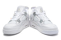 Кроссовки Air Jordan 4(IV) White Silver (37-40), фото 5