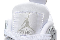Кроссовки Air Jordan 4(IV) White Silver (37-40), фото 6