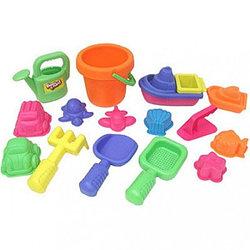 Beach Fun Набор для песочницы (16 игрушек)