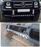Нижняя защита бампера AMG G63, фото 1