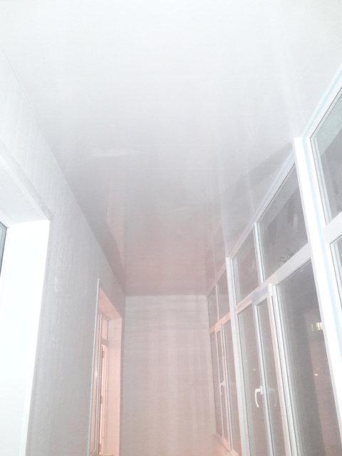 Обшивка и утепление двух лоджий декор панелью  мкр. Акбулак 3 19