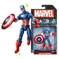 Фигурки коллекционные марвел Avengers с акс.