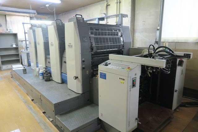 Ryobi 784 б/у 2007г - офсетная 4-красочная печатная машина