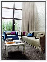 Портьерная ткань для штор, в зал с фактурой льна