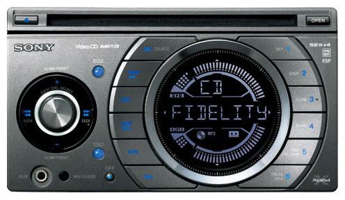 Автомагнитола Sony WX-VX55