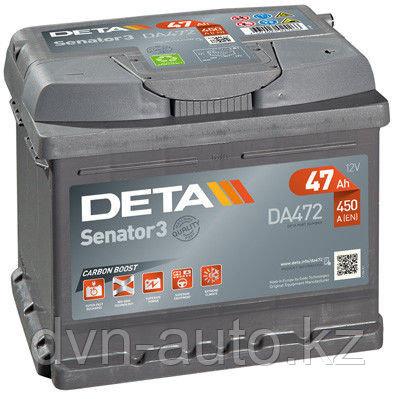 Аккумулятор DETA  DA 472 (47 Аh -+)