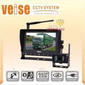 Камера заднего вида с монитором DW-766M2361 (для грузовиков, автобусов и т.д.)