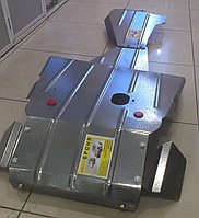 "Защита картера, коробки передач и раздаточной коробки""Броня"" (усиленная) Нива Шевроле 2123, фото 1"