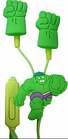 Детские наушники Халк (вкладыши, с разноцветными насадками)