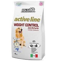Диетический сухой корм для собак при нарушениях обмена жиров и углеводов Forza10 Weight Control Active (рыба)