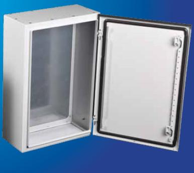 Настенный шкаф в комплекте с монтажной панелью - IP 66 ARES  500х700х200 мм