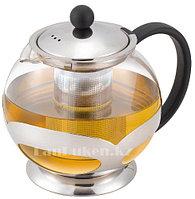 Заварочный стеклянный чайник 0,75 L (JML) с ситечком