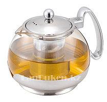 Заварочный стеклянный чайник 1,2 L (JML) с ситечком
