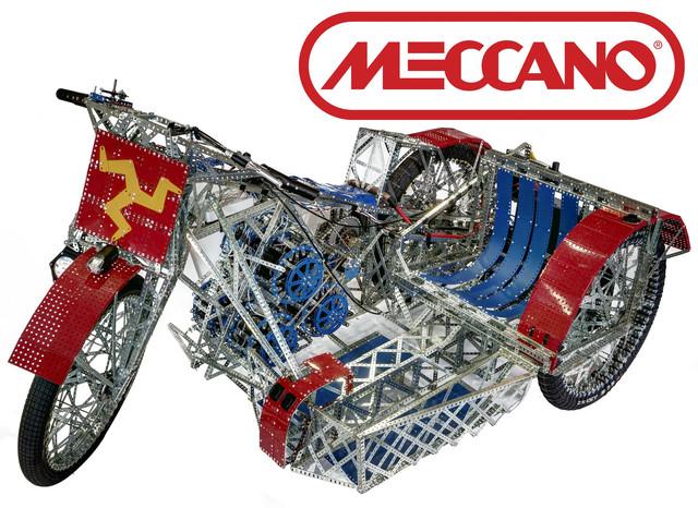 Meccano (Меккано) металлические конструкторы