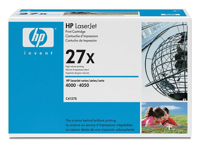 Картридж HP C4127X для LJ 4000/4050