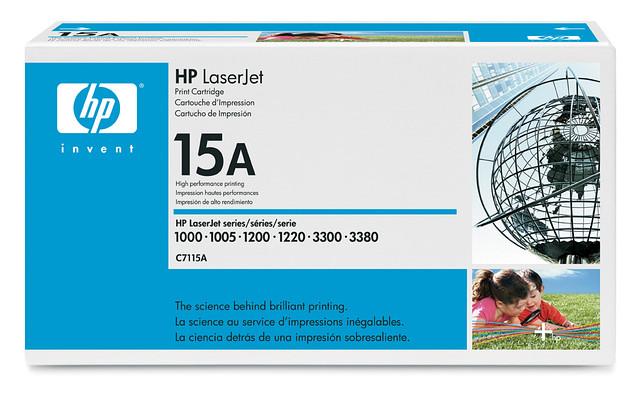 Картридж HP C7115A для LJ 1200/1220/1000w/1005