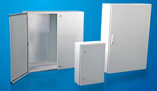 Настенные шкафы DM(500х700х300)мм в комплекте с монтажной панелью,заземление IP-65