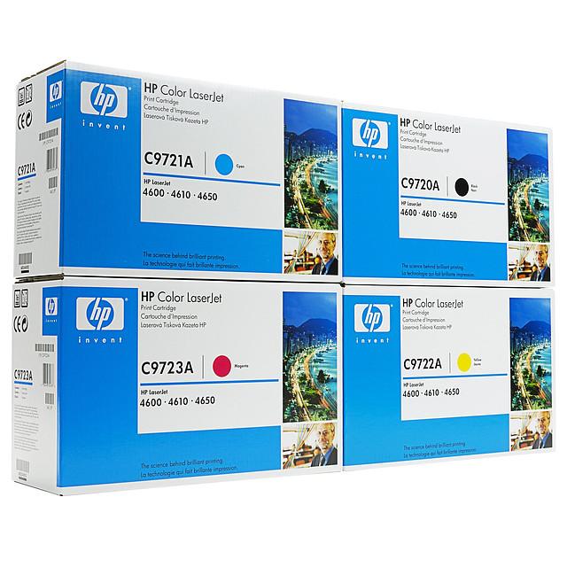Картридж HP C9720A для Color LJ 4600/4650